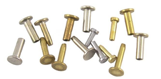 Cutlery Rivets- Brass, Nickel Silver & Stainless - Jantz Supply