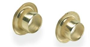 "Ke112 3/16"" X .187"" Brass Eyelets (Pkg 100) - Jantz Supply"