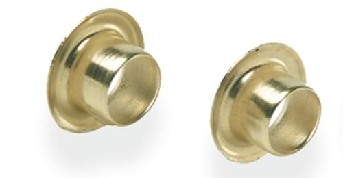 "Ke212 3/16"" X .281"" Brass Eyelets (Pkg 100) - Jantz Supply"