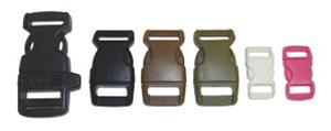 "Pc942 Tan 5/8"" Side Release Buckle Package Of 10 - Jantz Supply"
