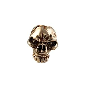 Sh502 Emerson Brass Skull Bead - Jantz Supply