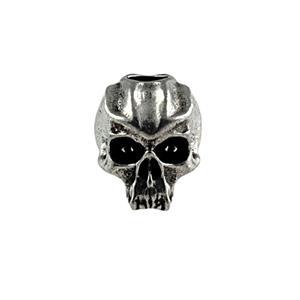 Sh701 Cyber Pewter Skull Bead - Jantz Supply