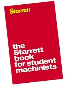 St1700 The Starrett Book For Students - Jantz Supply