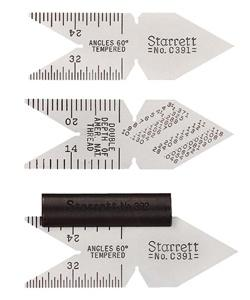 Stc391 Starrett Center Gages - Jantz Supply