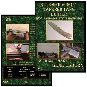 Vl125 Kit Knife 1:Tapered Tang Hunter By Gene Osborn - Jantz Supply