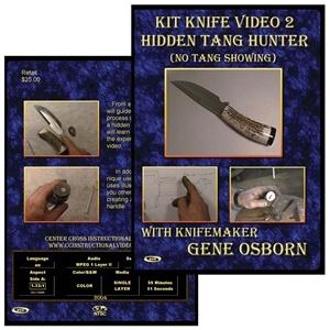 Vl126 Kit Knife 2: Hidden Tang Hunter By Gene Osborn - Jantz Supply