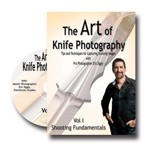 Vl131 The Art Of Knife Photography Vol 1 By Eric Eggly - Jantz Supply