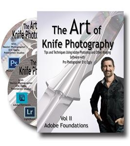Vl132 The Art Of Knife Photography Vol 2 By Eric Eggly - Jantz Supply