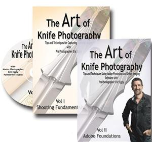 Vl133 The Art Of Knife Photography Set Vol 1 & 2 By Eric Eggly - Jantz Supply