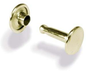 Wv1374 Brass Double Cap Rivets - Jantz Supply
