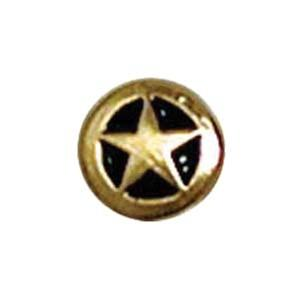 Wv7571 Gold Rivet Back Concho - Jantz Supply