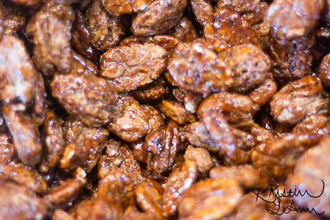 Honey Cinnamon Pecans