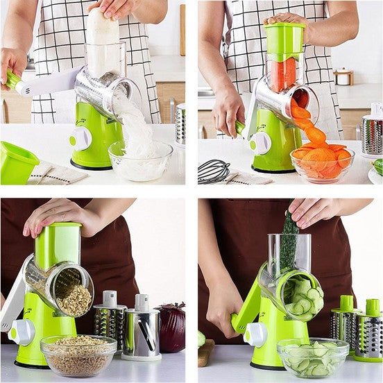 Stainless Steel Multi-Function Fruit And Vegetable Slicer Cutter