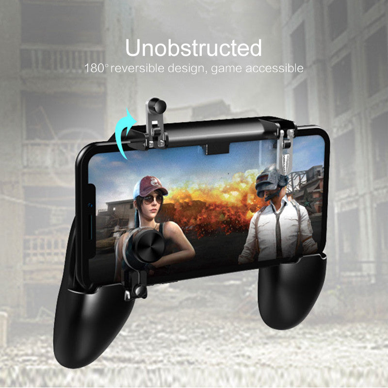 All in One Mobile Gaming Game Pad Fortnit Free Fire PUBG Mobile Game Controller PUBG Gamepad Joystick Metal