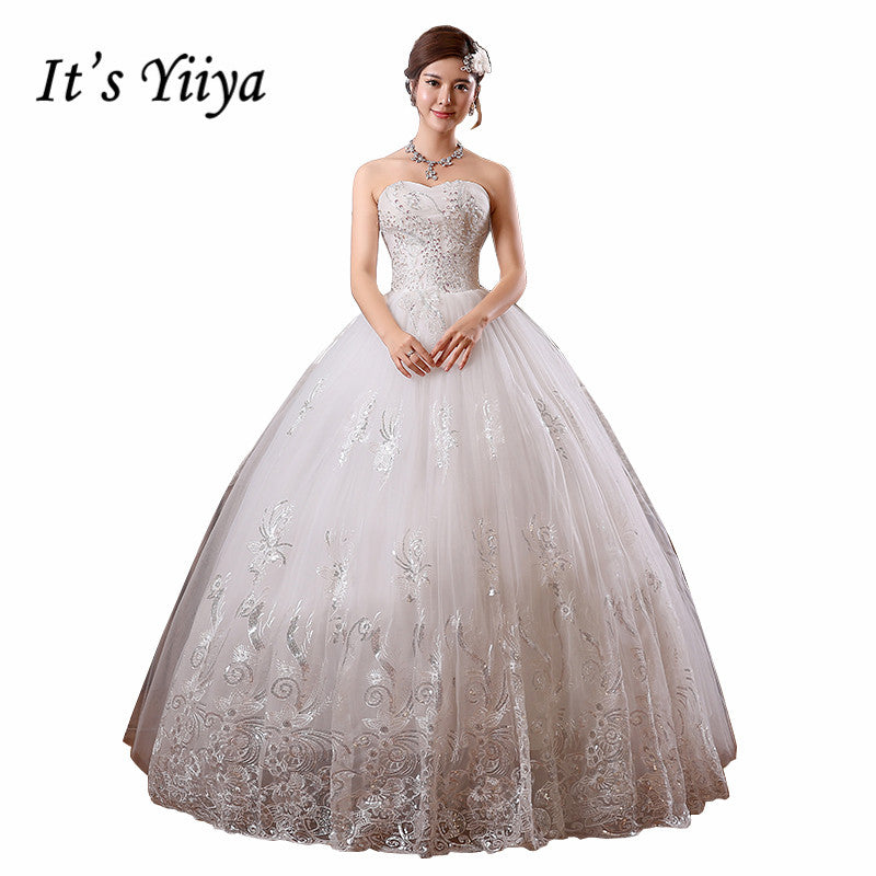 HOT Free shipping new 2019 white princess fashionable lace wedding dress romantic tulle wedding dresses Vestidos De Novia HS099