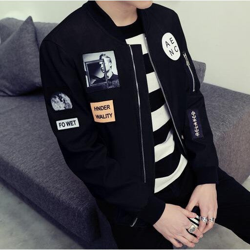 New Men's Jacket Korean Slim Thin Section Casual Jacket
