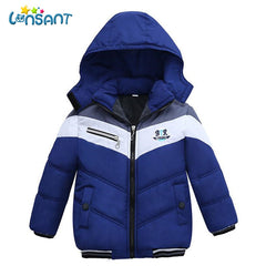 LONSANT Jacket Kids Coat Children Boys Girls Thick Coats Winter Warm Long Sleeve Baby Jacket Children Clothes Dropshipping L2935