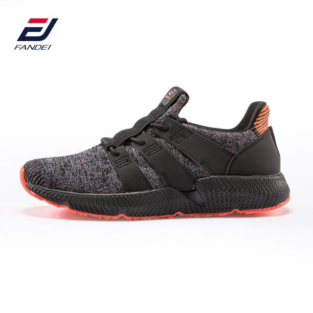 FANDEI New Original Winter Running Shoes for Men Outdoor Sport Shoes Mens Light Sneakers Cushioning Non-slip Mesh Walking Shoes