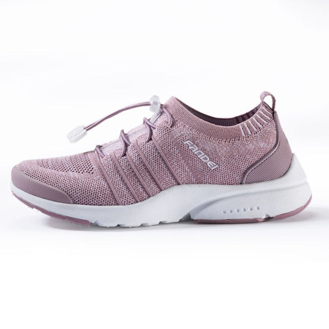 FANDEI Women Running Shoes Men's Sneakers Mesh Breathable Outdoor Sport Shoes for Man and Woman Light Cushioned Walking Shoes