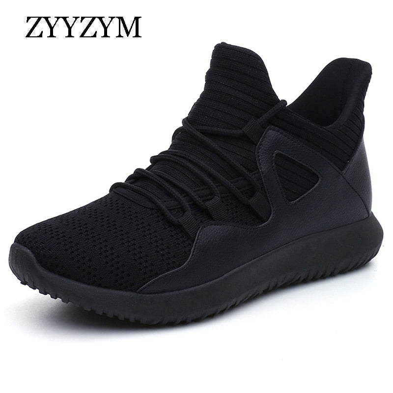 ZYYZYM Shoes Men Sneakers 2019 Spring Autumn Comfortable Breathable Lace-UP Unisex Walking Casual Shoes Men Large size 39-48