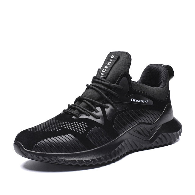 SUROM Winter Men Sneakers Breathable Add Plush Warm Running Shoes Comfortable Fashion Male Outdoor Sport Shoes zapatillas hombre