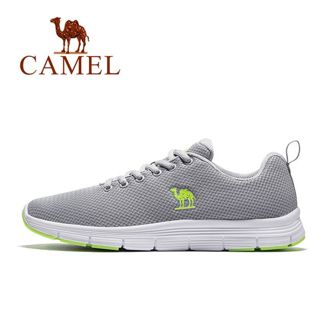 CAMEL Men's Running Shoes Mesh Air Comfortable Men Sneakers Breathable Sport Shoes For Outdoor
