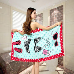 Cotton Large Beach Towel Sheet Holiday Camping Travel Costume Towels Gym Sauna Towel