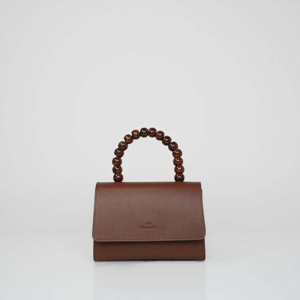 Almond Bag Mini Classic Brown