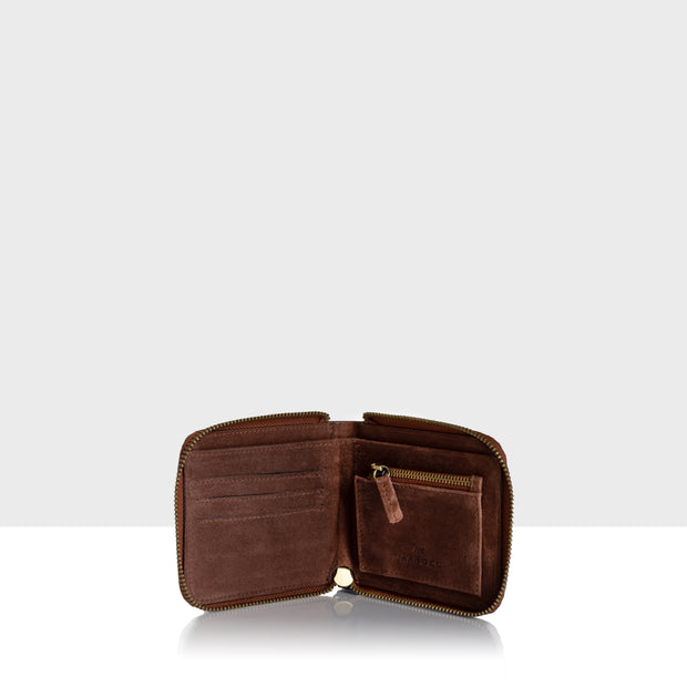 Wallet Brown Lizard