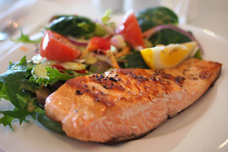 Salmon honey recipe