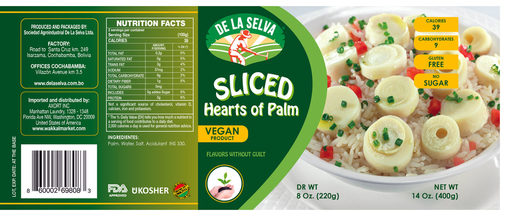 Sliced Hearts of Palm