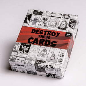Destroy These Cards box