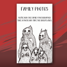 Load image into Gallery viewer, Family Photos card