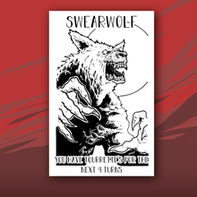 Load image into Gallery viewer, Swearwolf card