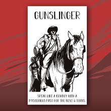 Load image into Gallery viewer, Gunslinger card