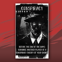 Load image into Gallery viewer, Conspiracy card