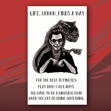 Load image into Gallery viewer, Life, Uh, Finds A Way card