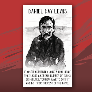 Daniel Day Lewis card