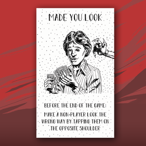 Made You Look card