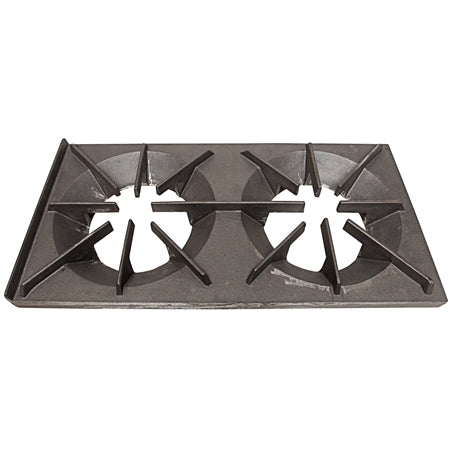 "NEWARK--12"" x 24"" Dual Burner Top Grate"