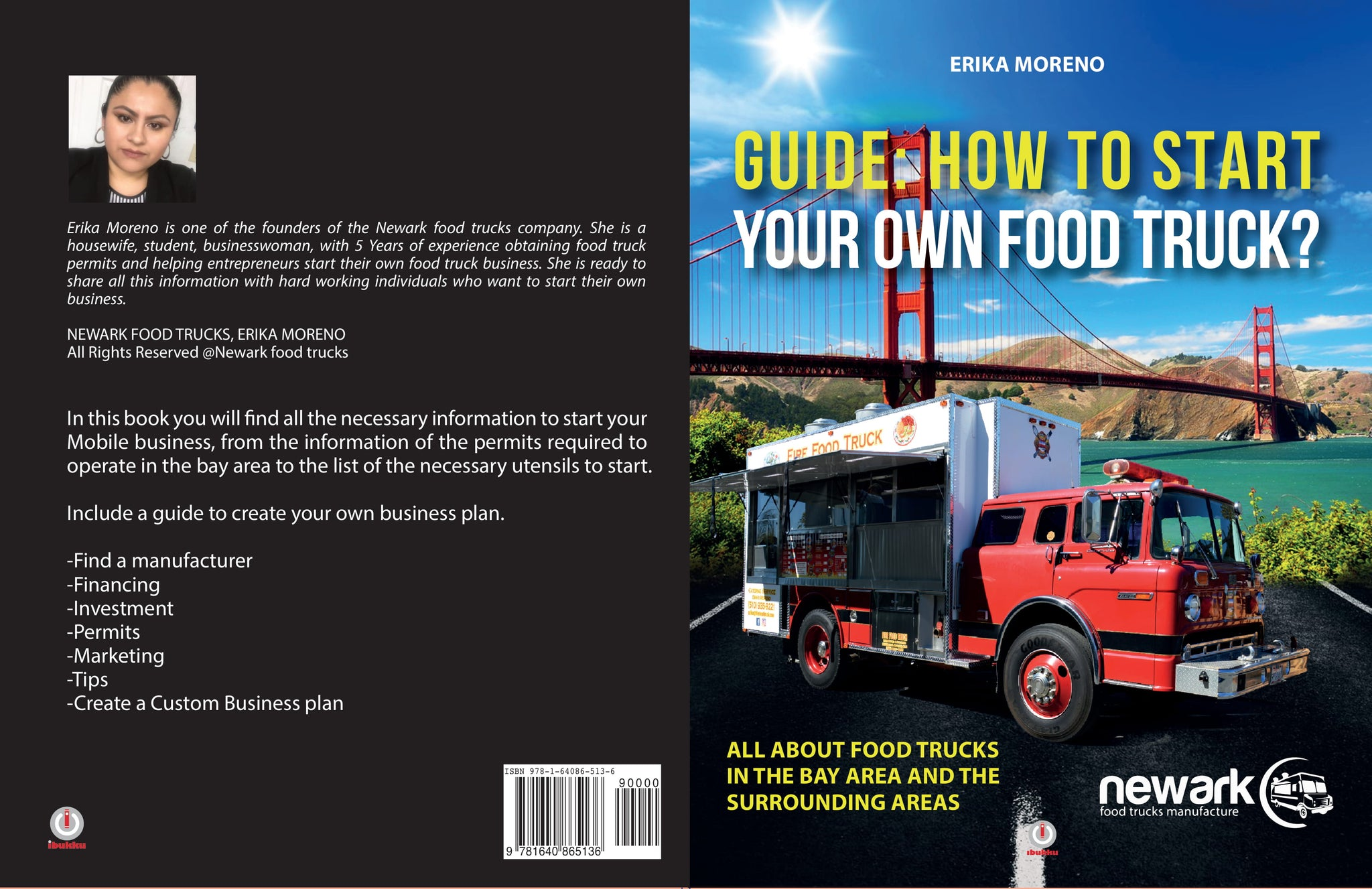 BOOK (GUIDE : HOW TO START YOUR OWN FOOD TRUCK?)ENGLISH VERSION