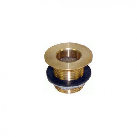 "Brass Sink Drain 1"" NPS x 1-1/2"" Length (304003) (0.41 lbs)"