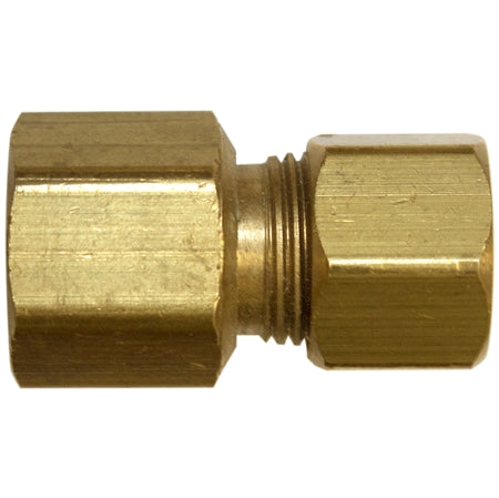 Brass Union Reducing Coupling - Compression x Compression