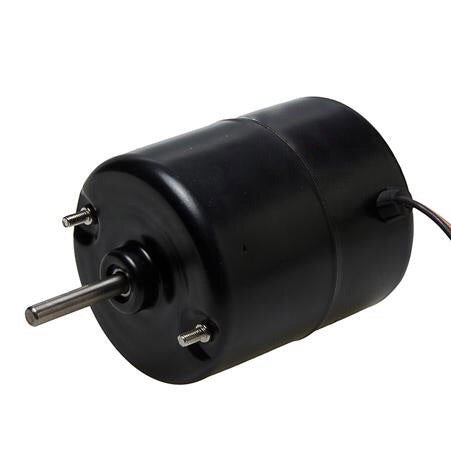 "3-1/2"" 12V Fan Motor - 2 Speed - Short Shaft"