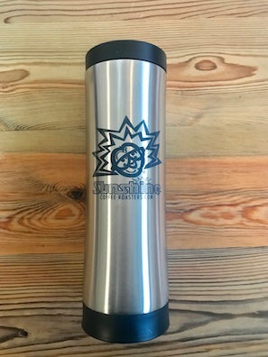16oz Sunshine Organic Coffee Roasters Stainless Steel Tumbler