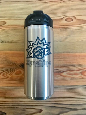12oz Sunshine Organic Coffee Roasters Stainless Steel Thermal Tumbler