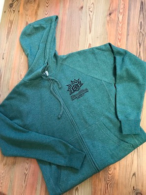 Sunshine Organic Coffee Roasters Zip-Up Sweatshirt