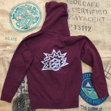 NEW Sunshine Organic Coffee Roasters Zip-Up Sweatshirt + MORE COLORS