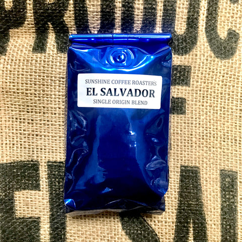 8oz Single Origin El Salvador Whole Bean