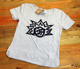 Women's Grey T-Shirt Front